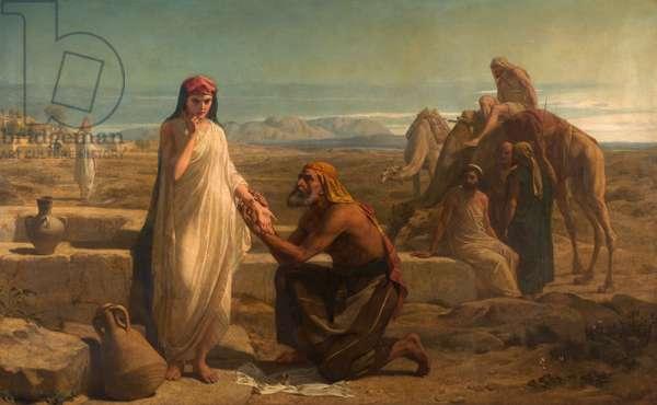 Rebekah, 1867 (oil on canvas)