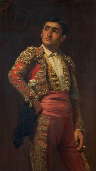 A Spanish Matador, 1880 (oil on canvas)