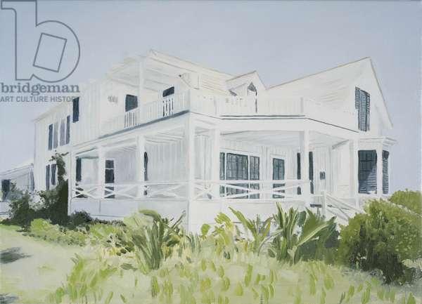 Bahamian house, 2004 (oil on canvas)