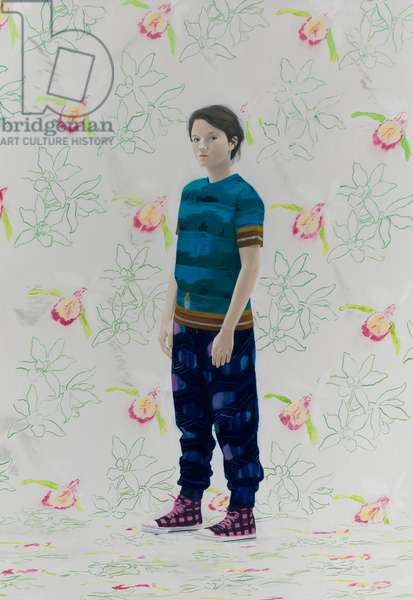 Jessica, 2010 (oil on canvas)