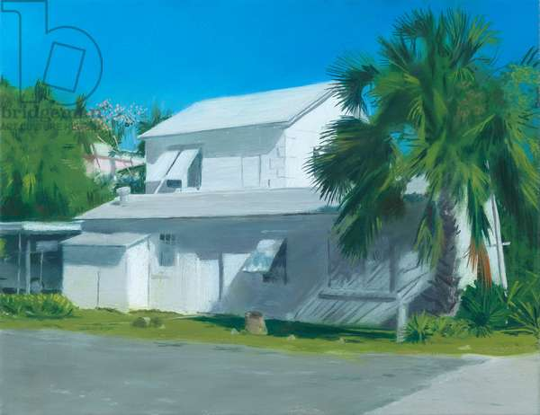Bahamian House, 2019 (oil on linen)