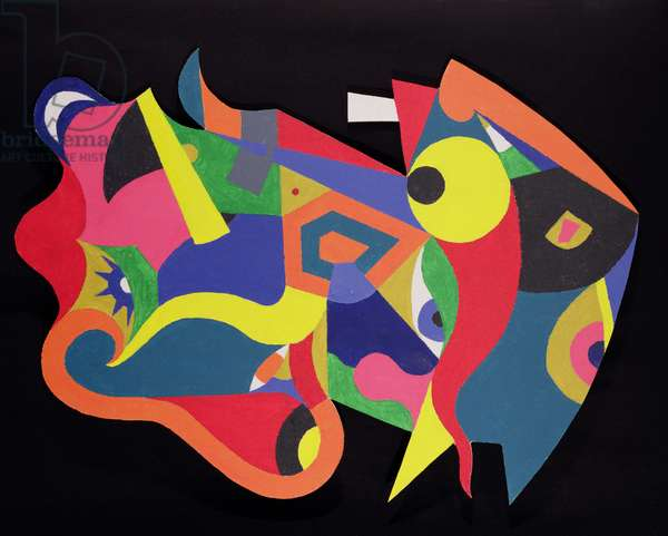Masquerade (acrylic on canvas)