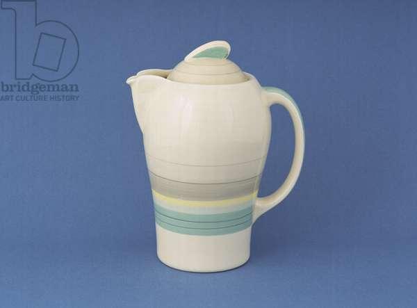 'Kestrel' hot water pot, c.1936 (earthenware)