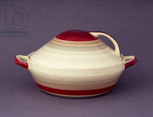 'Kestrel' tureen, c.1932 (earthenware)