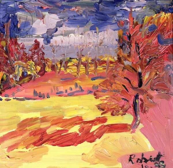 Walnut Tree, 1998 (oil on board)