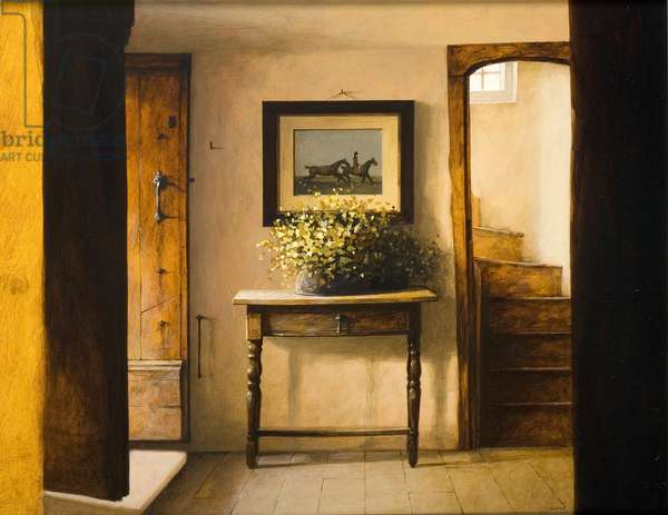 Hall Stairs, 2006 (acrylic on board)