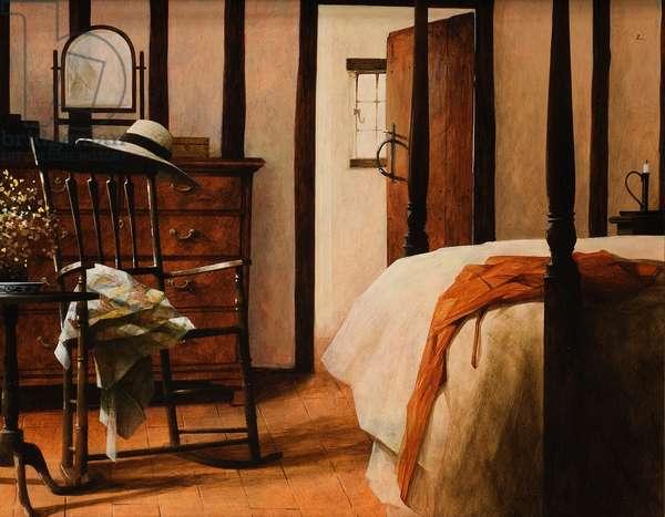 Bedroom, 2007 (acrylic on board)