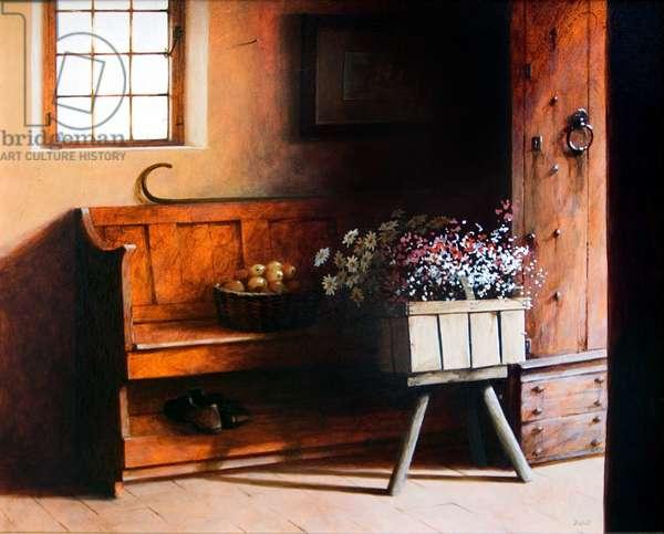 Harvest Time, 2007 (acrylic on canvas)