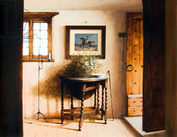 Court Cottage Hall, 2008 (acrylic on board)