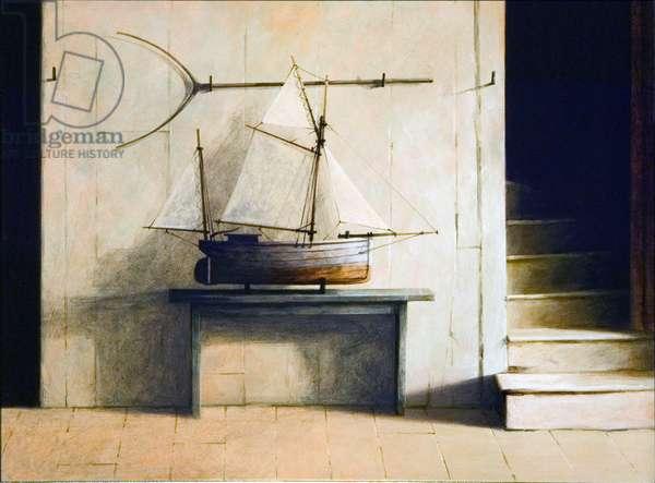 Fisherman's Cottage, 2006 (acrylic on board)