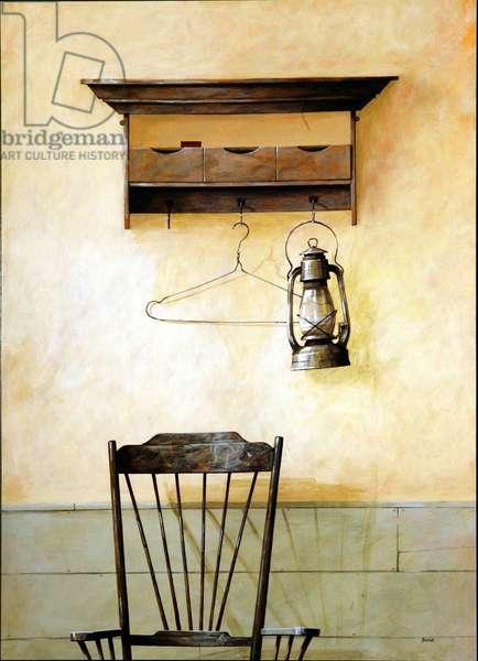 The Lamp, 2004 (acrylic on board)