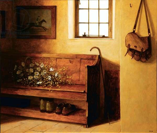 Hall Settle, 2005 (acrylic on board)