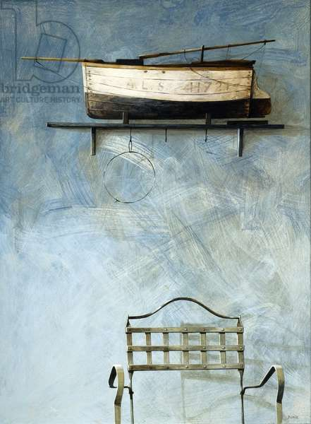 Under the Boat, 2006 (acrylic on board)