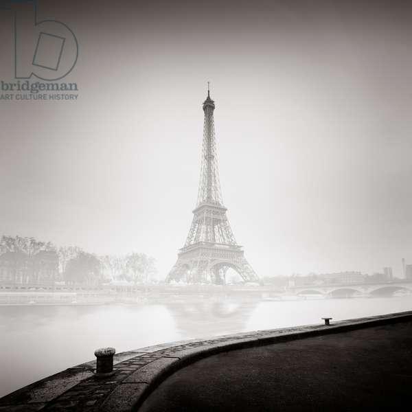 Tour Eiffel, Paris, France, 2013 (b/w photo)