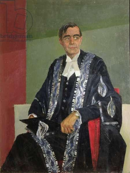 Portrait of Robert Goodden, 1970 (oil on canvas)