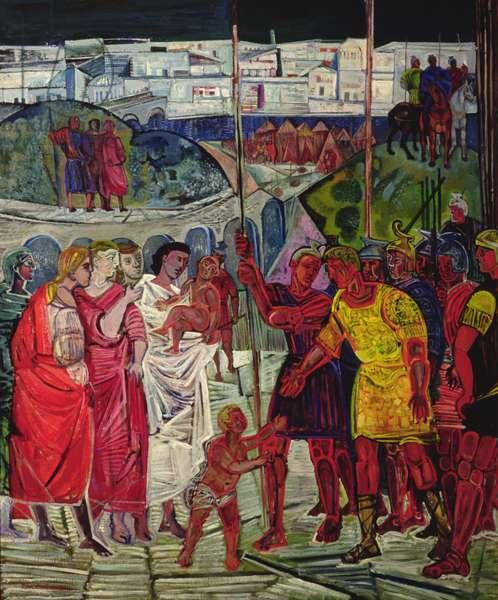 Coriolanus (oil on canvas)