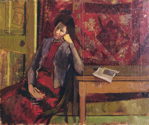 Portrait of a Woman, 1951 (oil on canvas)