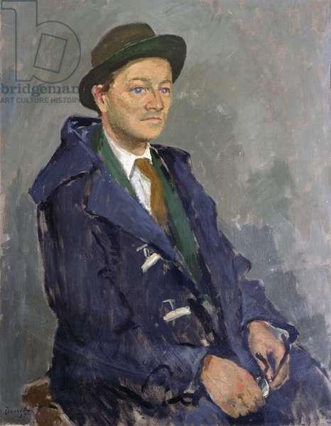 Portrait of Sir Hugh Casson, 1957 (oil on canvas)
