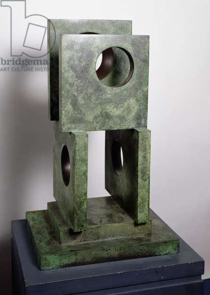 Four-Square (Four Circles), 1966 (bronze) (see also 354857)