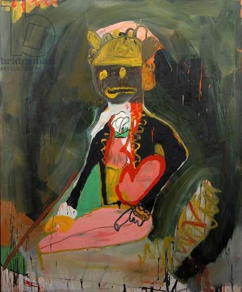 Wanabe, 1992 (oil on canvas)