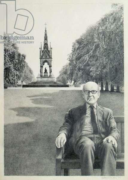 Sir Misha Black, 1975 (litho)