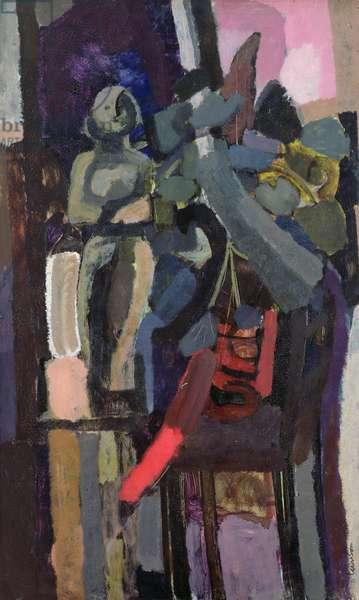 Still Life, 1958 (oil on hardboard)