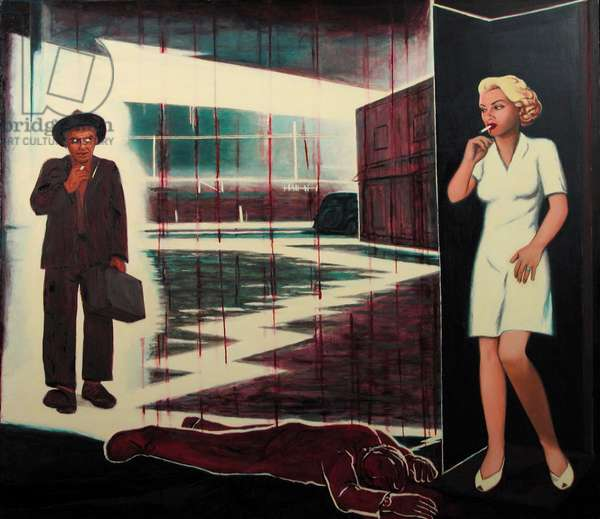 The Postman Always Rings Twice, c.1994-95 (oil on canvas)