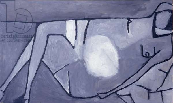 Reclining Nude, 1956 (oil on canvas)