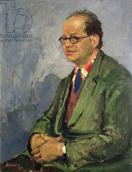 Portrait of Carel Weight, 1957 (oil on canvas)