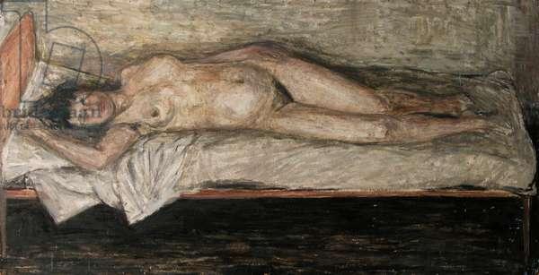 Nude, 1954 (oil on board)