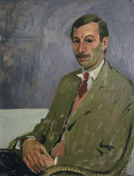 Portrait of Edwin La Dell, 1957 (oil on canvas)