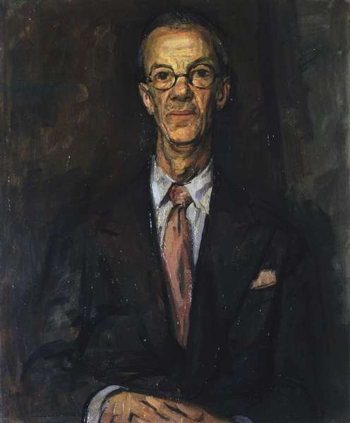Portrait of Percy Jowett, 1954 (oil on canvas)