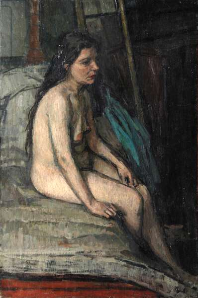 Seated Nude, 1951 (oil on canvas)