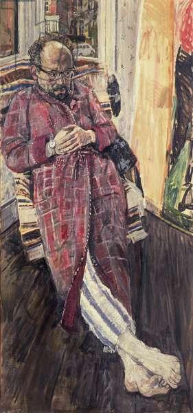 Portrait of John Bratby, 1962 (oil on canvas)