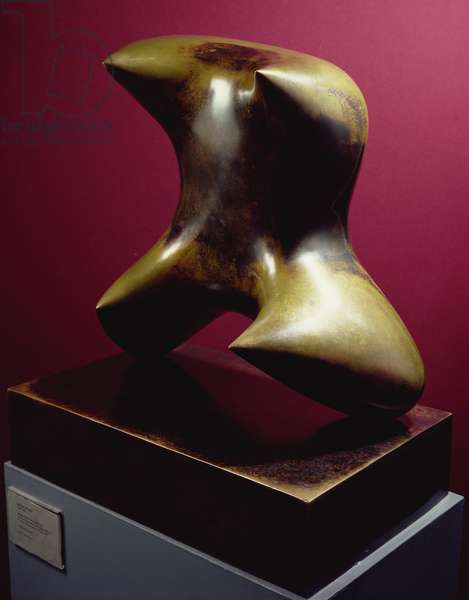 Pointed Torso (bronze with brown patina)
