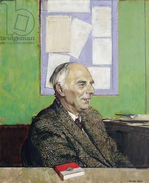 Portrait of Rodney Burn, 1962 (oil on canvas)