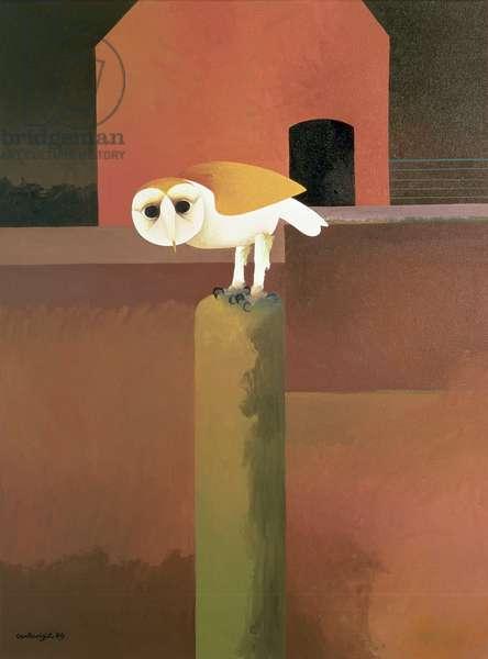 The Barn Owl, 1989 (oil on canvas)