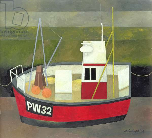 PW 32 Padstow Harbour, 1994 (oil on board)