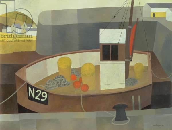 The Harbour, N 29, 1994 (oil on board)
