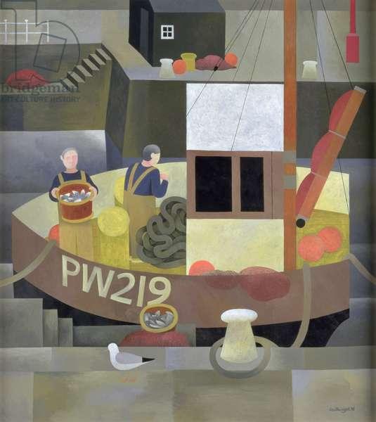 PW219, 1996 (oil on board)