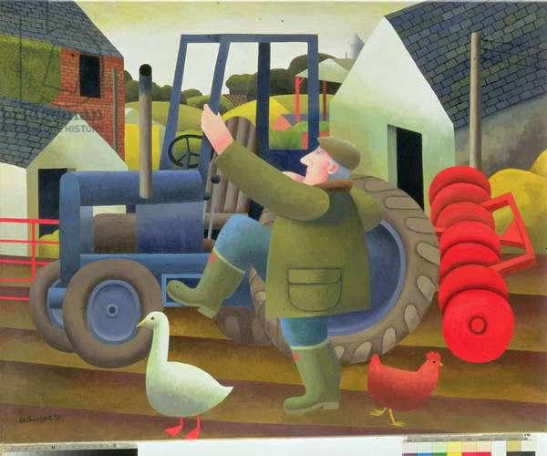 The Farmer, 1993 (oil on canvas)