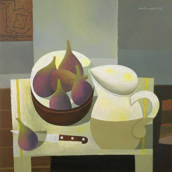 Still Life with Figs, 1998 (oil on board)