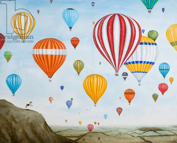 Hot Air Rises, 2012 (oil on linen)