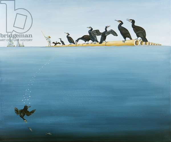 The Fishing Trip, 2011 (oil on linen)