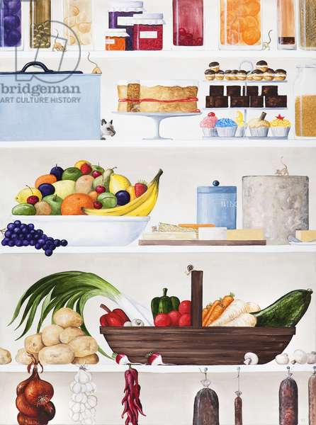 The Pantry, 2011 (oil on linen)