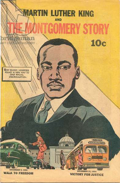 Martin Luther King and The Montgomery Story, 1957 (litho)