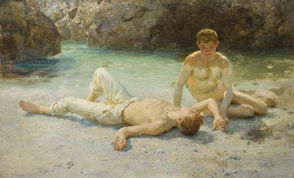Noonday Heat, 1902-3 (oil on canvas)