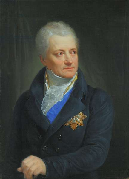 Count Kazimierz Rzewuski, 1806 (oil on canvas)
