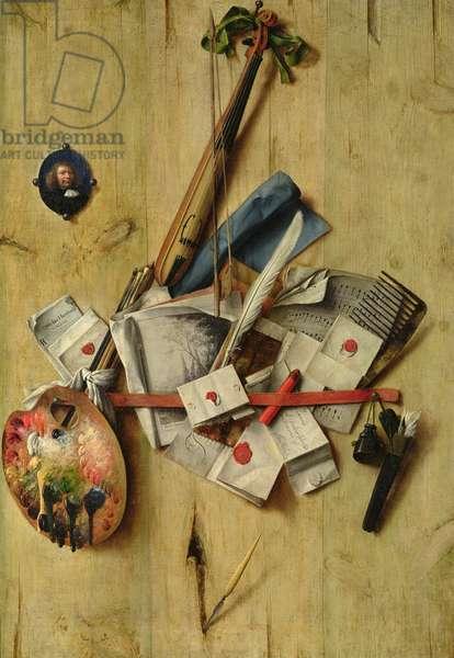 Still Life, 1675 (oil on canvas)