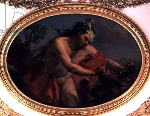 Strength, c.1777 (oil on canvas)